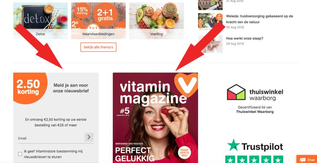 Vitaminestore kortingscode