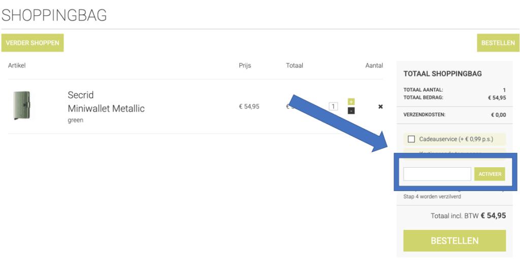 the little green bag kortingscode gebruiken