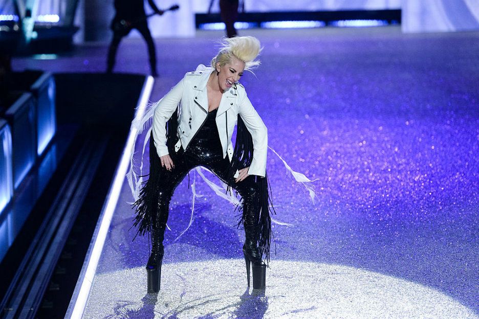 Lady Gaga geeft concert in Ziggo Dome