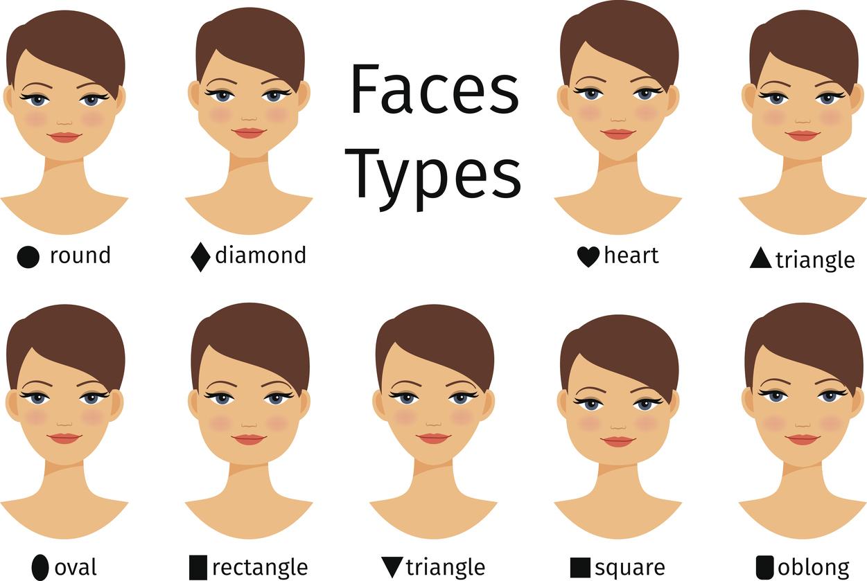 Овальная форма лица стрижки женские