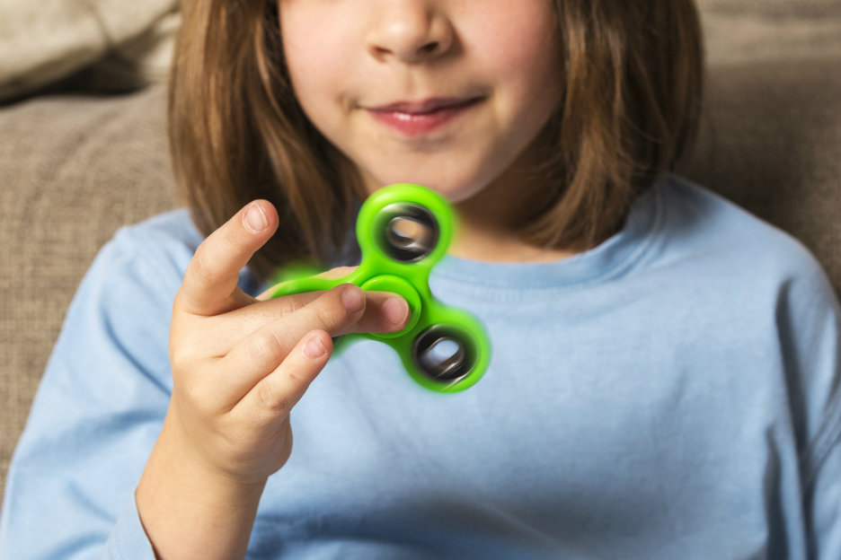 Wat is een fidget spinner?