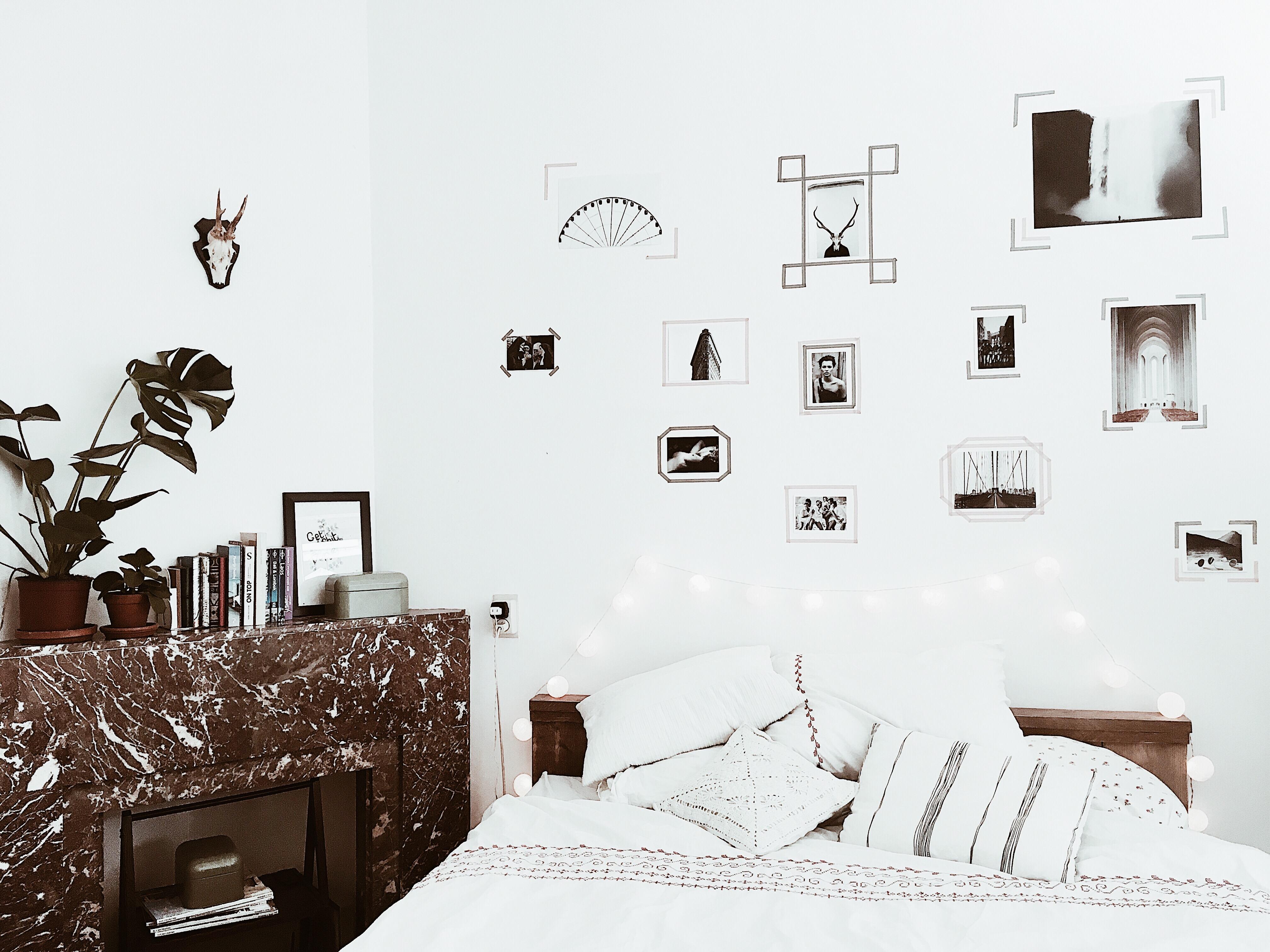 fotowand diy diy deko entza ckende inspiration dekorieren. Black Bedroom Furniture Sets. Home Design Ideas