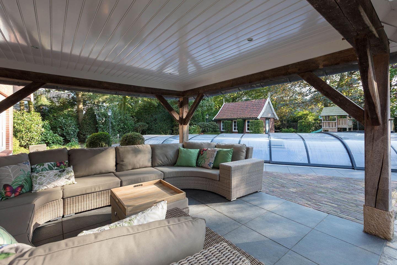 Zwembad In Huis : Fun da huis met mega zwembad in de achtertuin te koop