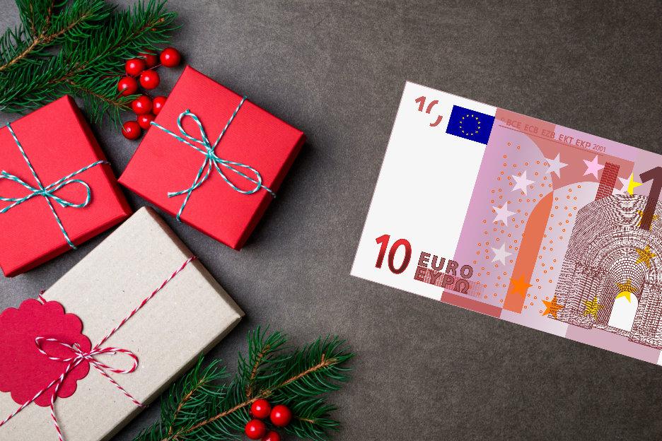 Zeer 10 x De origineelste kerstcadeaus voor 10 euro #TF26