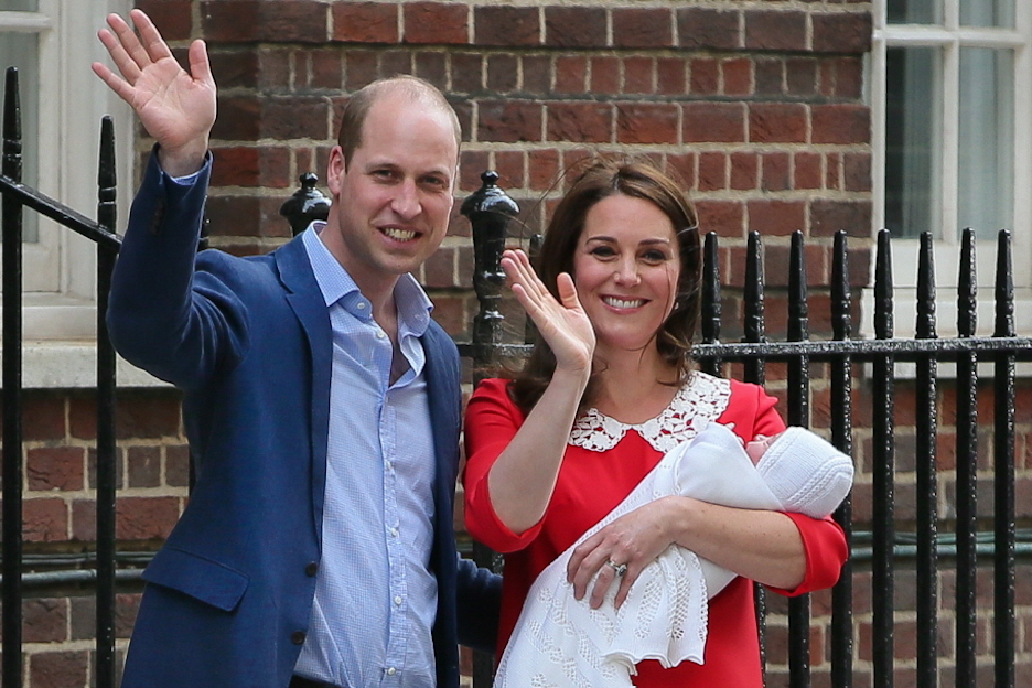 Vers babynieuws: Prins William en Kate Middleton worden oom en tante
