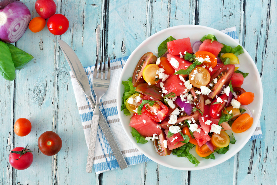 Recept BBQ salades: tomatensalade | njam! | Recept in 2020