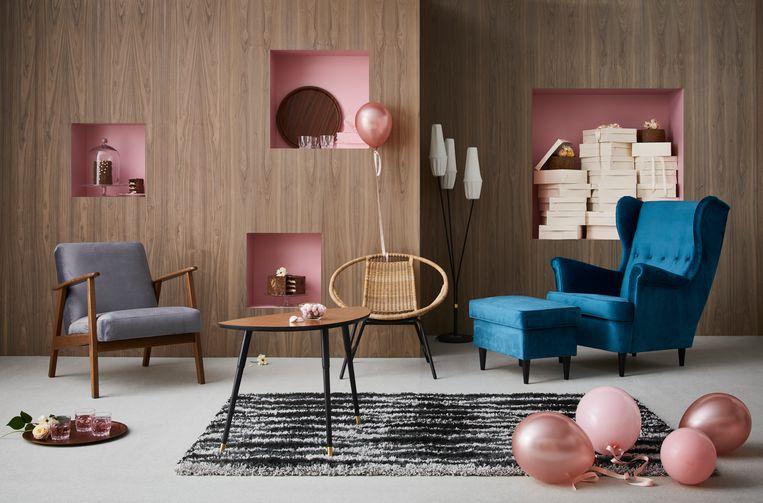 Hoera Ikea Viert 75ste Verjaardag Met Meest Iconische Meubels Door