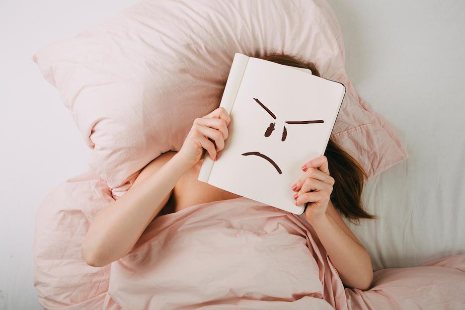 chagrijnig menstruatie
