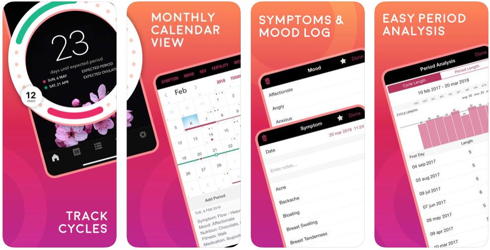 menstruatie apps life