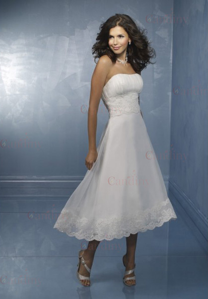 semi formal wedding dresses amp casual de korte trouwjurk 7296