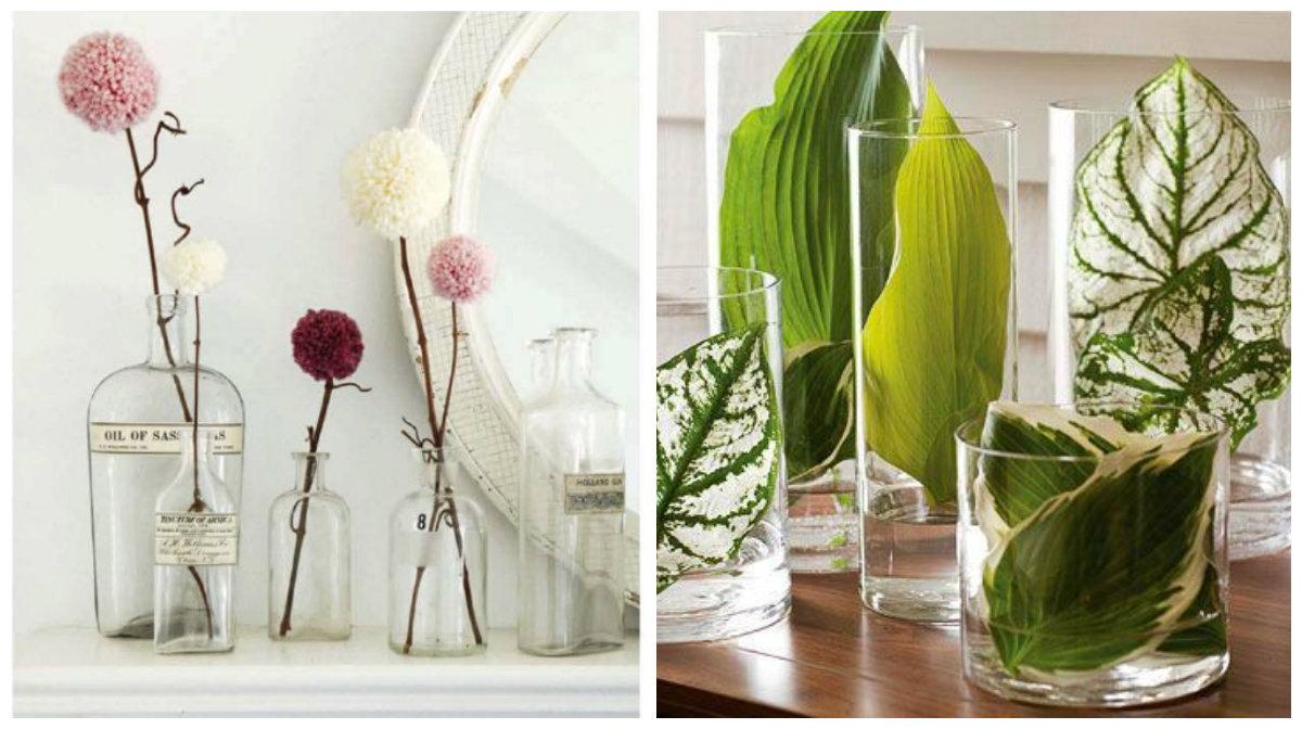 Originele manieren om een vaas te vullen for Decoratie in vaas