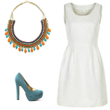 Trend: Little white dress