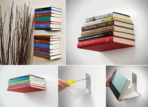Boekenplank Met Boeken.Diy Boekenplanken