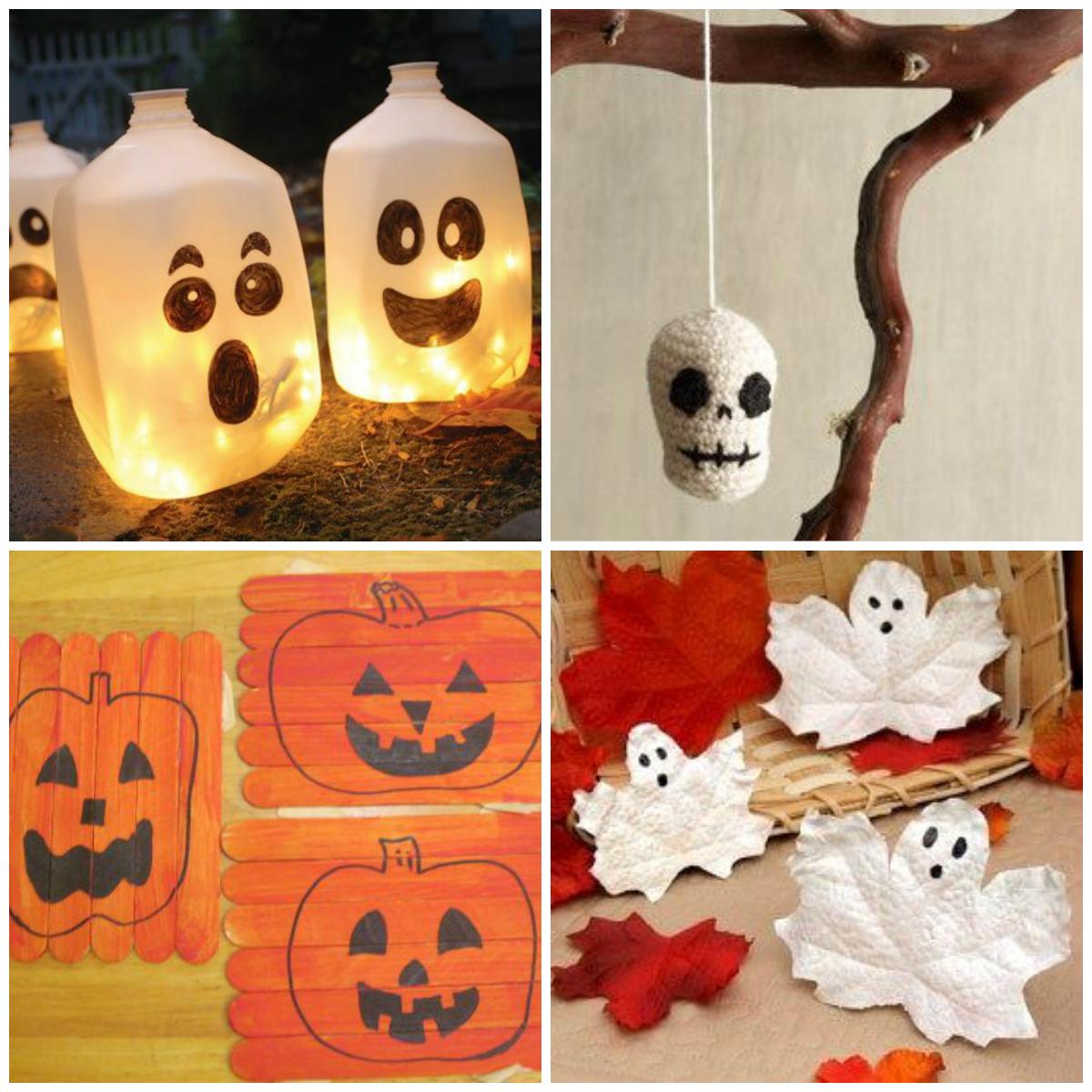 Halloween diy for Halloween versiering maken