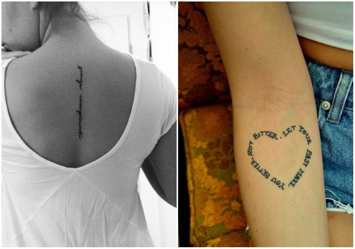 Kleine Vrouwelijke Tattoo Ideeën Deel 2