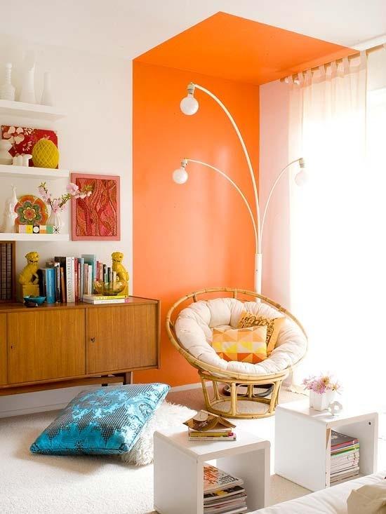 Interieur: Zo haal je oranje stijlvol in je huis!