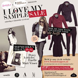 I Love My Sample Sale: Ben jij erbij?