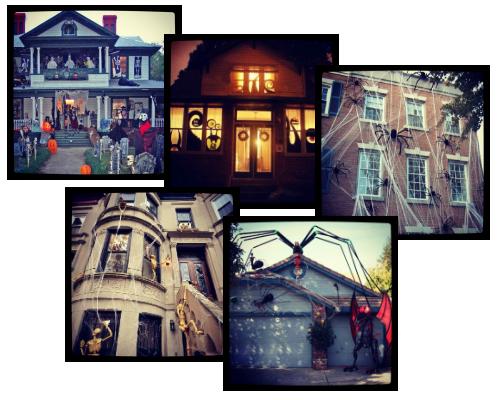 31 oktober halloween - Versier het huis ...