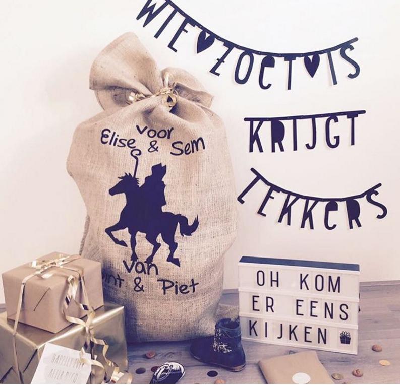 84 Sinterklaas Plaatje Sinterklaas Pakje Cadeautje